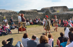 Spectacle d'Agrippine dans la forteresse